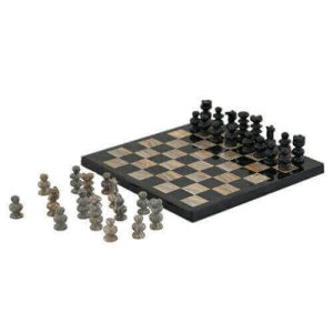 Natural stone chess